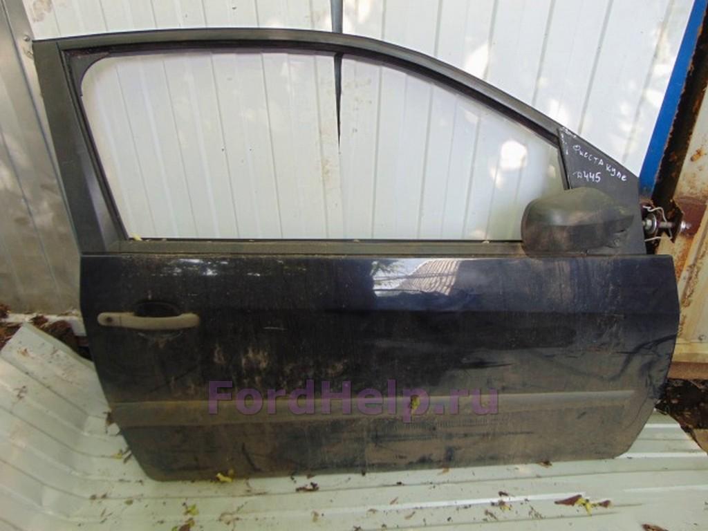 Дверь передняя правая фиолетовая купе Форд Фиеста
