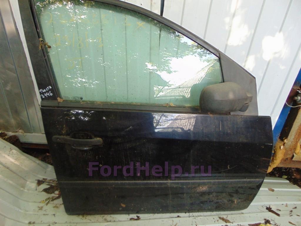 Дверь передняя правая фиолетовая хетчбек Форд Фиеста