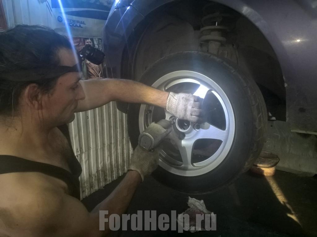 Замена рулвой рейки Форд Фиеста (3).jpg