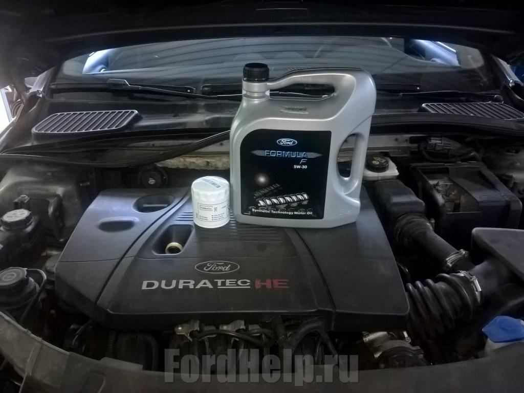 Замена масла в двигателе Форд Мондео 4 (3).jpg