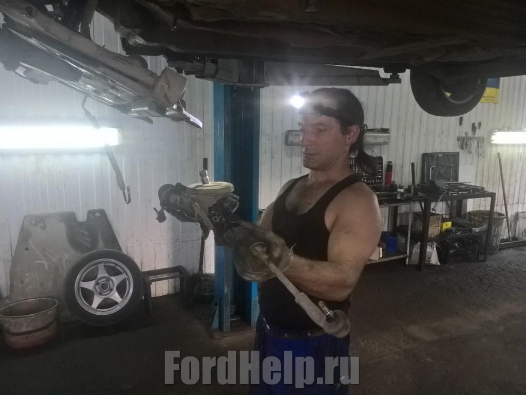 Замена рулвой рейки Форд Фиеста (27).jpg
